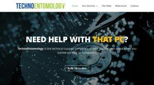 TecnoEntomology.com web site design