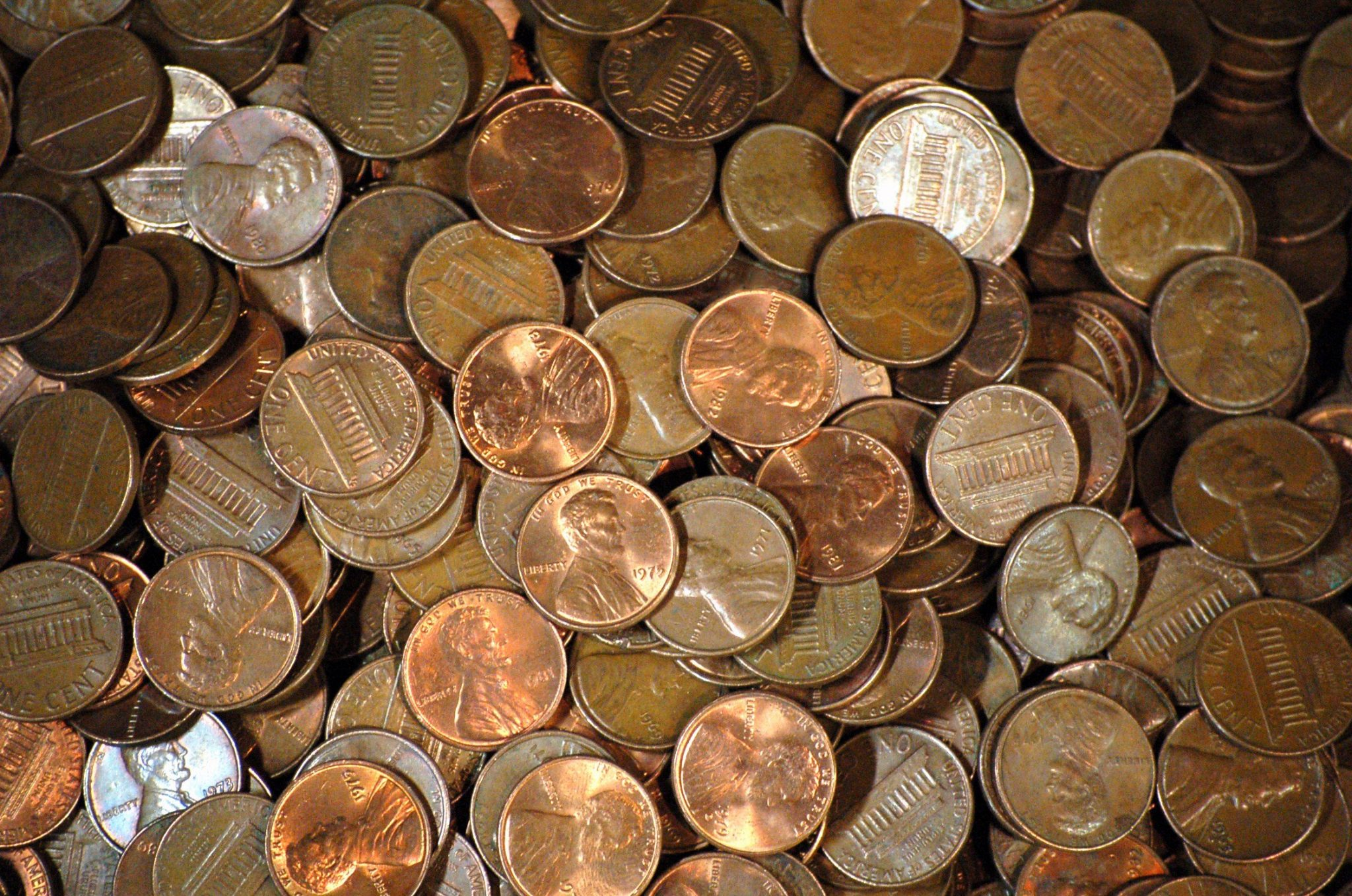 How Many Pennies Per Pound