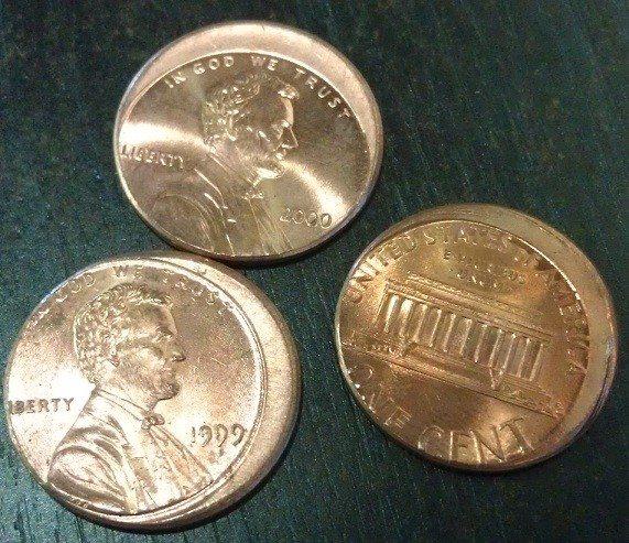 Misstruck Pennies