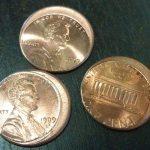 mis-struck pennies