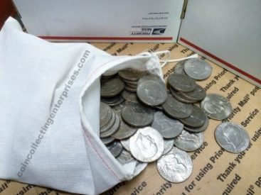 Eisenhower dollar coins collection