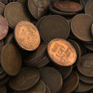 Unsearched Wheat Cents