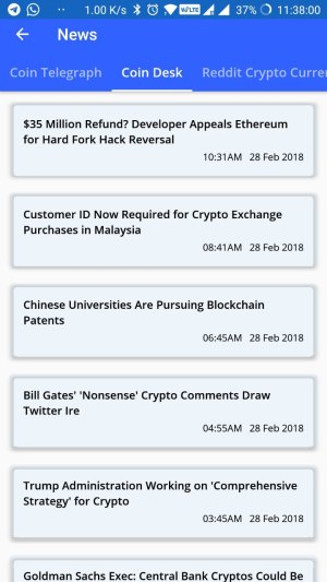 how to get coin crunch india updates