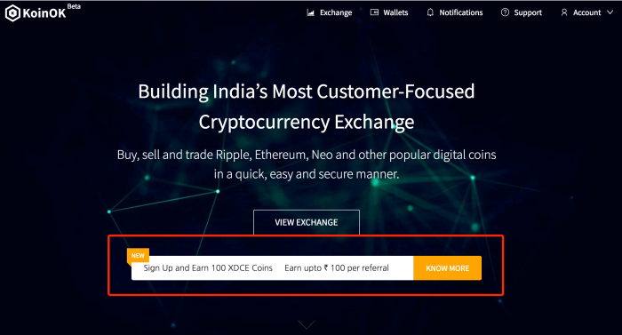 KoinOK brings XDC airdrops to India in the new dual referral offer