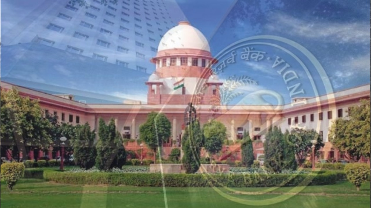 supreme court of India RBI issue