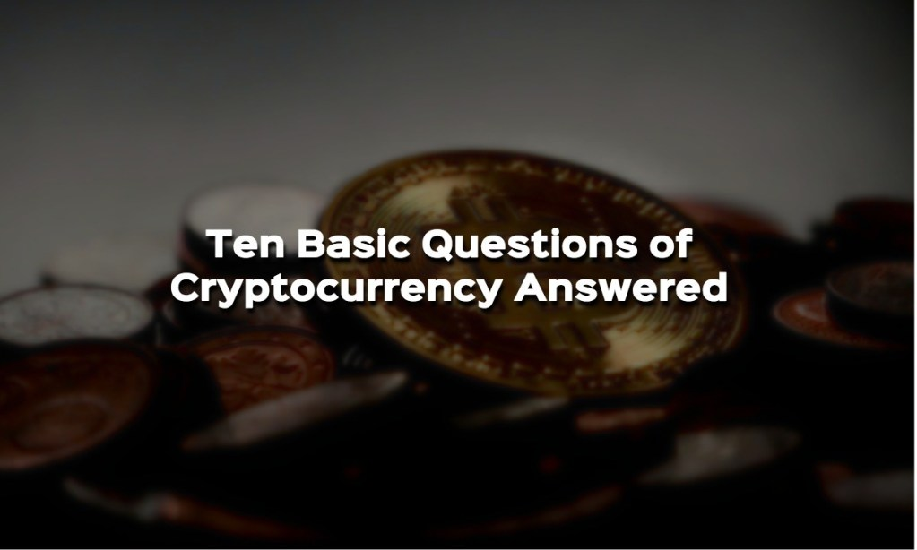 basics of cryptocurrency