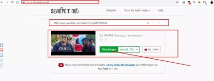 télécharger youtube vidéo avec savefrom download
