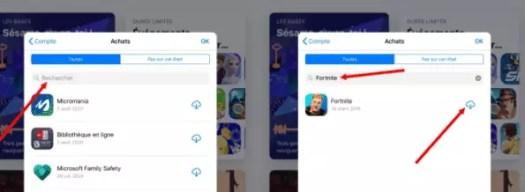 installer Fortnite sur iphone