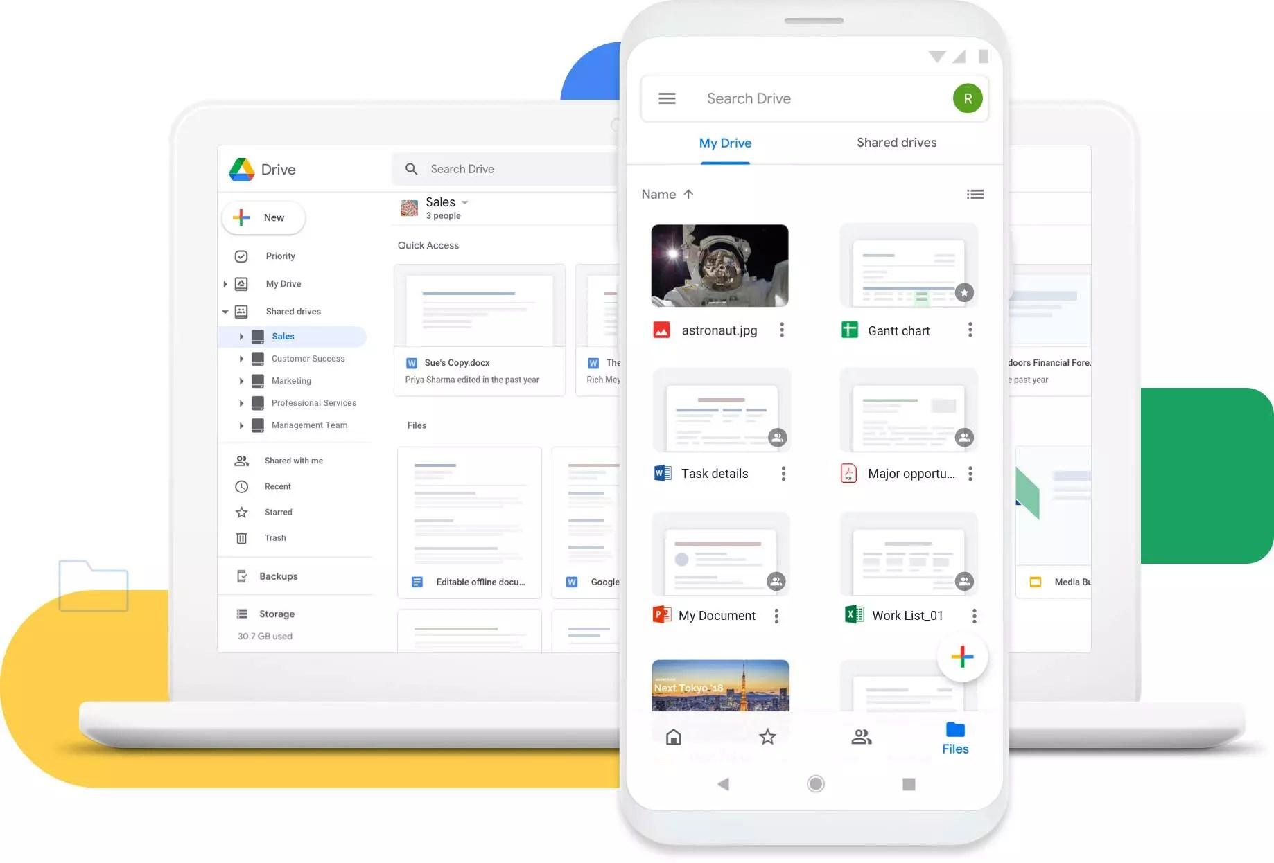 Google Drive : outil de stockage et de partage gratuit de fichiers en ligne