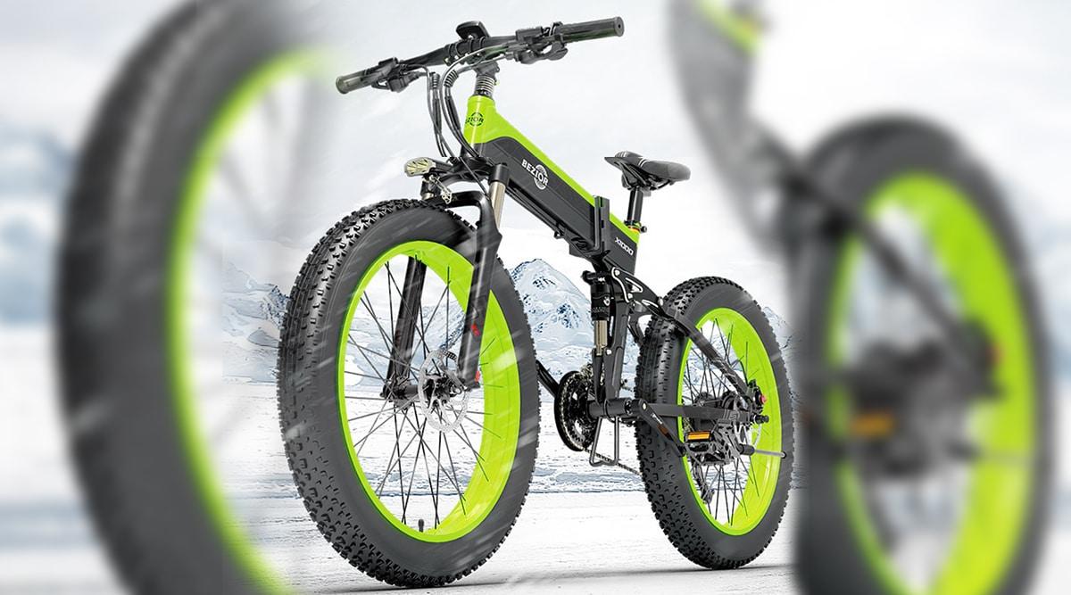 BEZIOR 12.8AH : Vélo électrique pliable ( économiser 300€ )