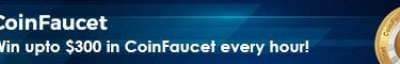 Banner de CoinFaucet.io