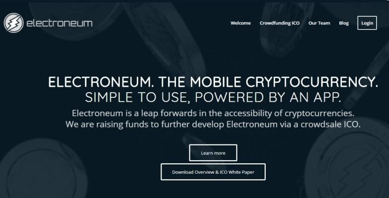 electroneum ICO Review ETN Token