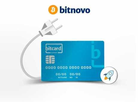 Bitcard BTC debit cards