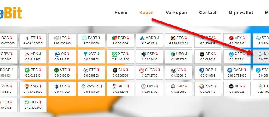 50 soorten cryptocurrency kopen met iDeal (beginners handleiding)