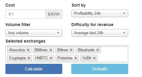 Verge Cloud Mining Cpu Mining Profitability Calculator