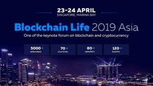blockchain life 2019 asia singapore