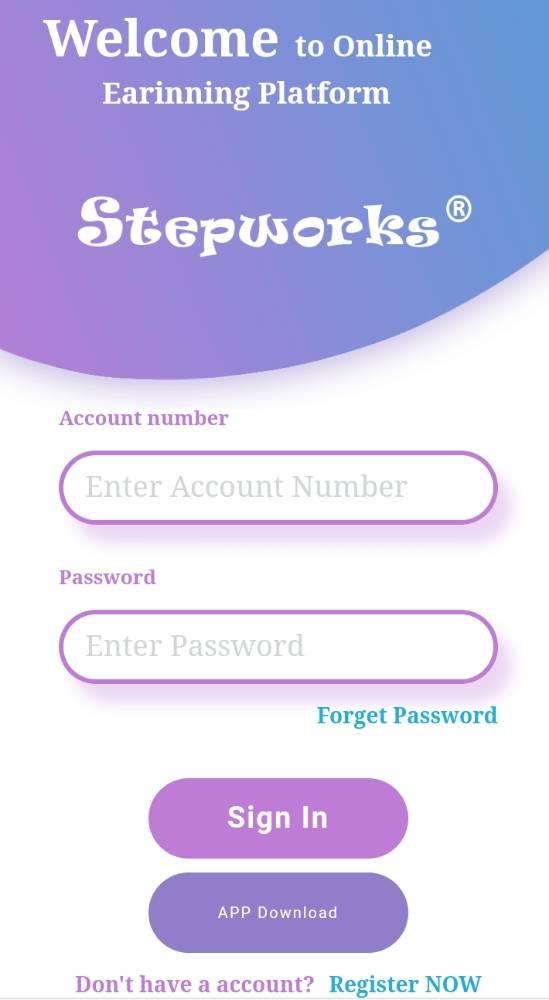 Stepworkstime login