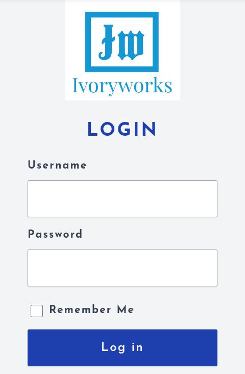 Ivoryworks login