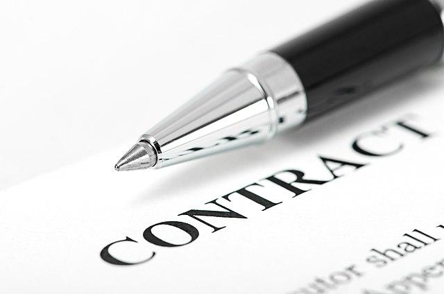 Contract pen