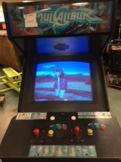 Soul Calibur Upright Arcade Machine Game For Sale By Namco