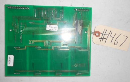 TITANIC Pinball Machine Game PCB Printed Circuit DISPLAY