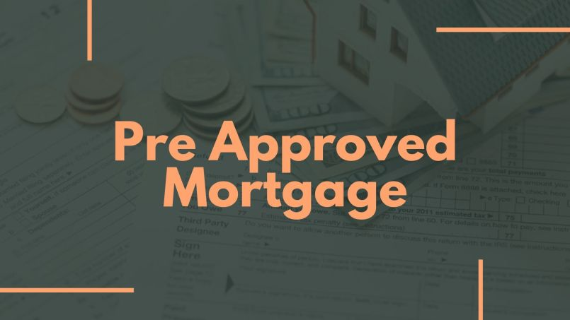 Pre Approved Mortgage Letter