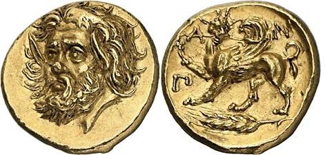 Πόσο νομίζετε ότι πουλήθηκε το εικονιζόμενο αρχαίο νόμισμα από το Παντικάπαιον;