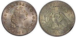 A 1794 silver dollar sold for almost $5 million last night in New York City -