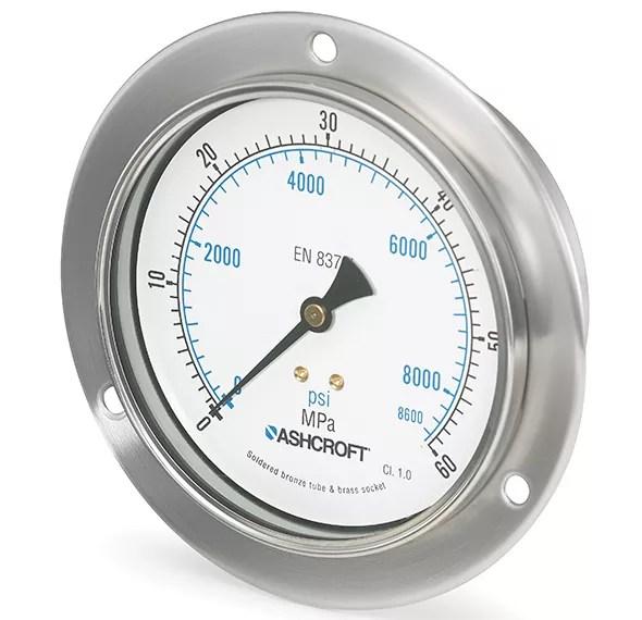 Manómetro de presión 8008A Marca Ashcroft México Coinsamatik 2