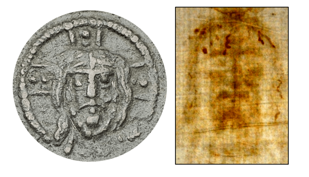 Byzantine Coins, the Shroud of Turin and the Holy Grail