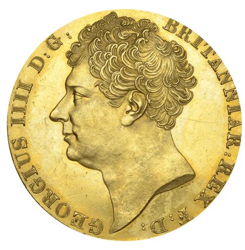 The extraordinary 1823 double sovereign