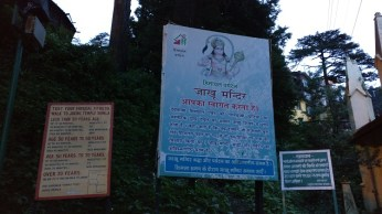 Some facts about Jakhuji temple