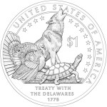 2013 Native American Dollar Reverse Design