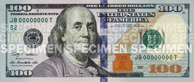 Will you trade $100 for a new $100 note to have it autographed by Treasurer of the United States Rosie Rios?