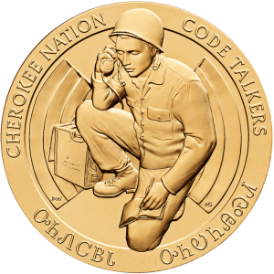 Cherokee Nation Code Talkers Medal