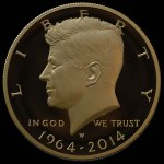 Kennedy-Mockup-Image-of-2014-24K-Gold-Kennedy-Half-Dollar-with-date-of-1964-2014