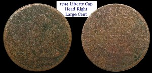 1794 Liberty Cap Head Right Large Cent