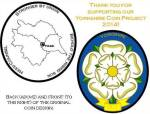 Proposed design of the Yorkshire (UK) Challenge Coin.