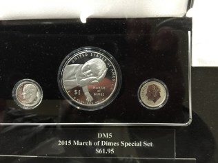 2015 March of Dimes Commemorative Proof set