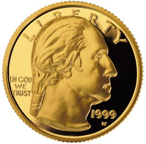 1999-W George Washington Commemorative using the design by Laura Gardin Frazer