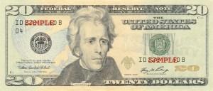 $20 Series 2006 Obverse
