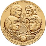 American Fighter Aces Bronze Medal