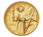 2015 American Liberty High Relief Gold Coin