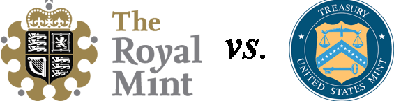 Royal Mint v US Mint