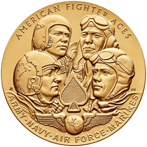 2015 American Fighter Aces Bronze Medal