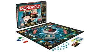 Monopoly Ultimate Banking, a cashless version of the famous board game.