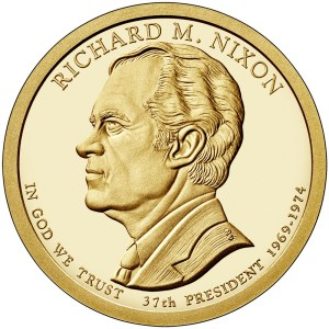 2016 Richard M. Nixon dollar coin