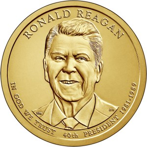 2016 Ronald Reagan dollar coin