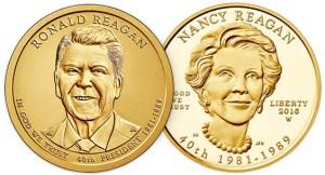 2016 Reagan coins