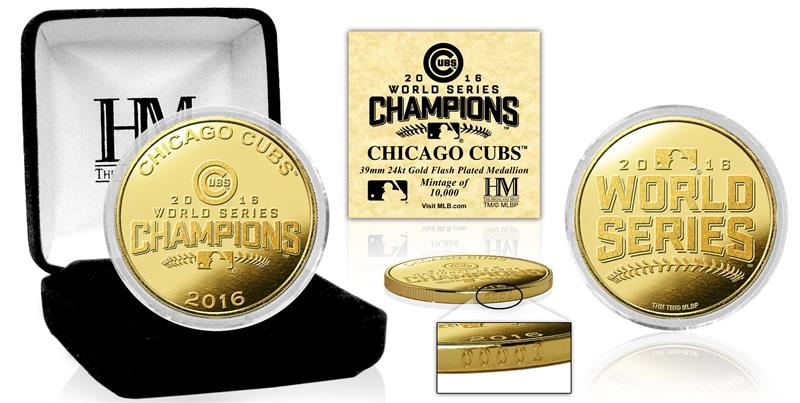Cubs numismatic collectibles